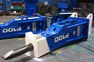 heavy line hydraulic breaker WSM F100 schwerer Hydraulikhammer