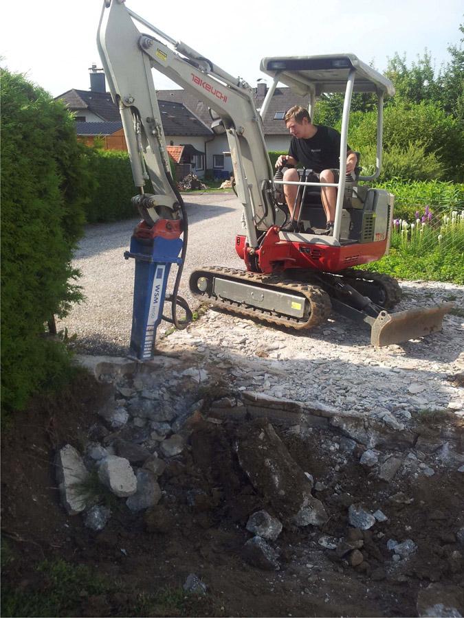 Schremmhammer, Abbruchhammer, Hydraulikhammer