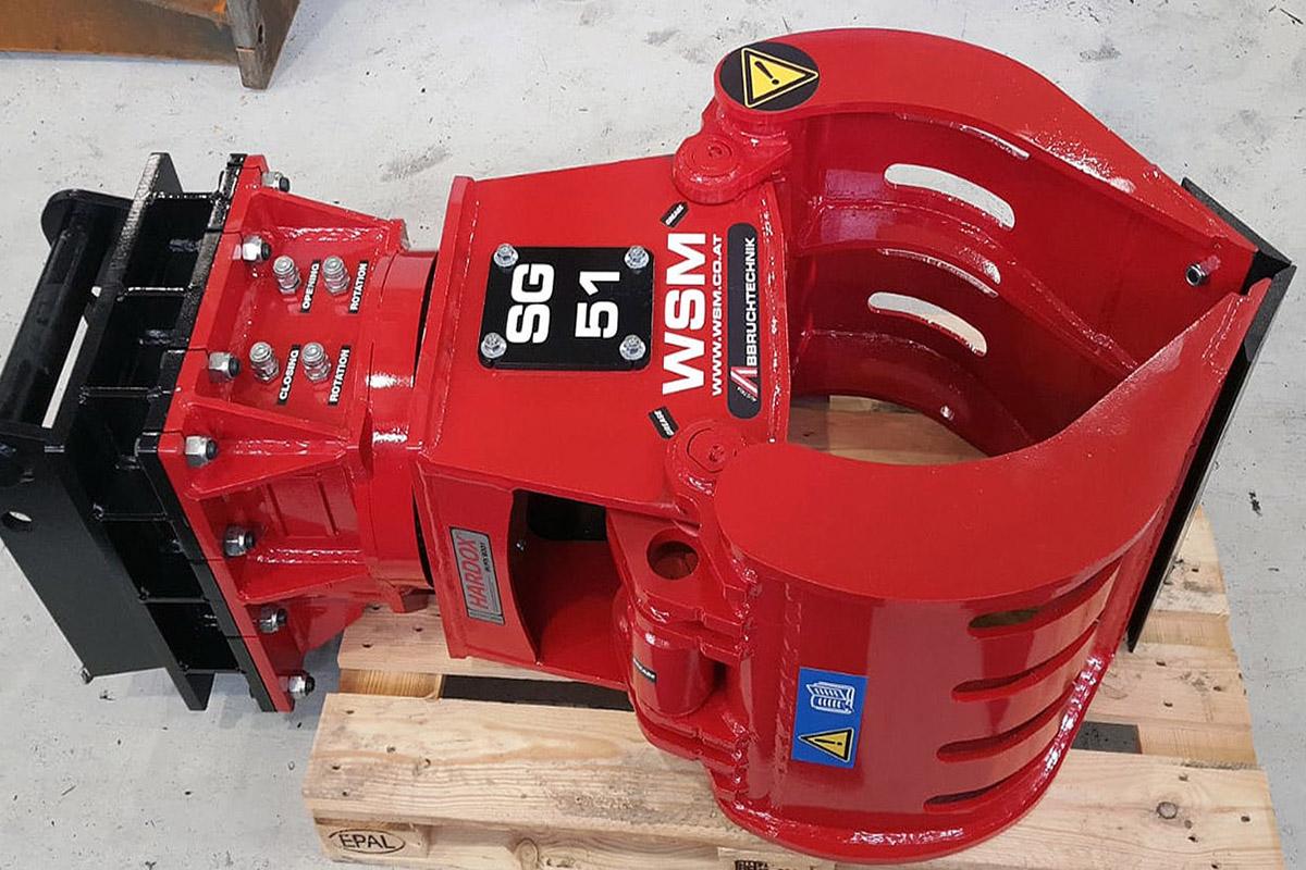 Sortiergreifer SG51 rot